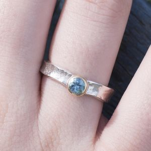Matilda Aquamarine March Birthstone Ring