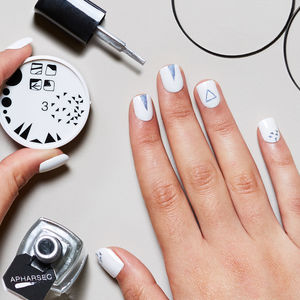 Shape It Off Nail Art Stamp