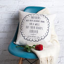 Personalised Mother's Day Cushion Cover