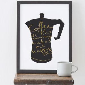 Coffee Kitchen Print