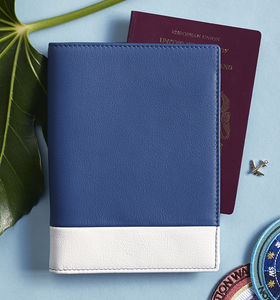 Passport Holder Travel Wallet In Soft Luxury Leather