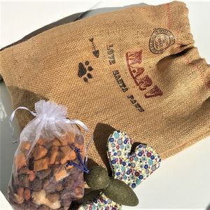 Personalised Christmas Cat/Dog Treat Bag - cats