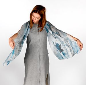 Husavik Silk Scarf - scarves