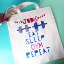 Personal Trainer Gym Bag - just name