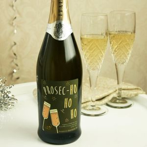 Christmas Personalised Prosecco - prosecco gifts