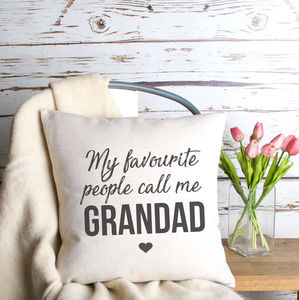 'Favourite People' Cushion Cover - cushions