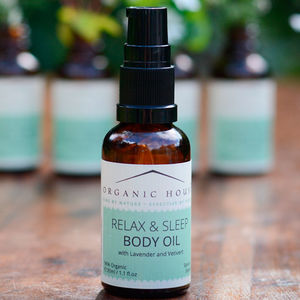 Relax And Sleep Body Oil - massage & aromatherapy