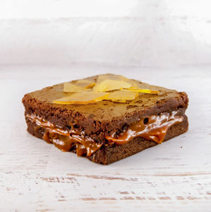 Salted Caramel Chocolate Brownie Duo - cakes & sweet treats