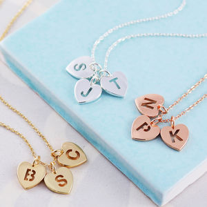 Personalised Initial Heart Necklace