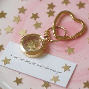 'Shooting Star' Keyring - women's accessories