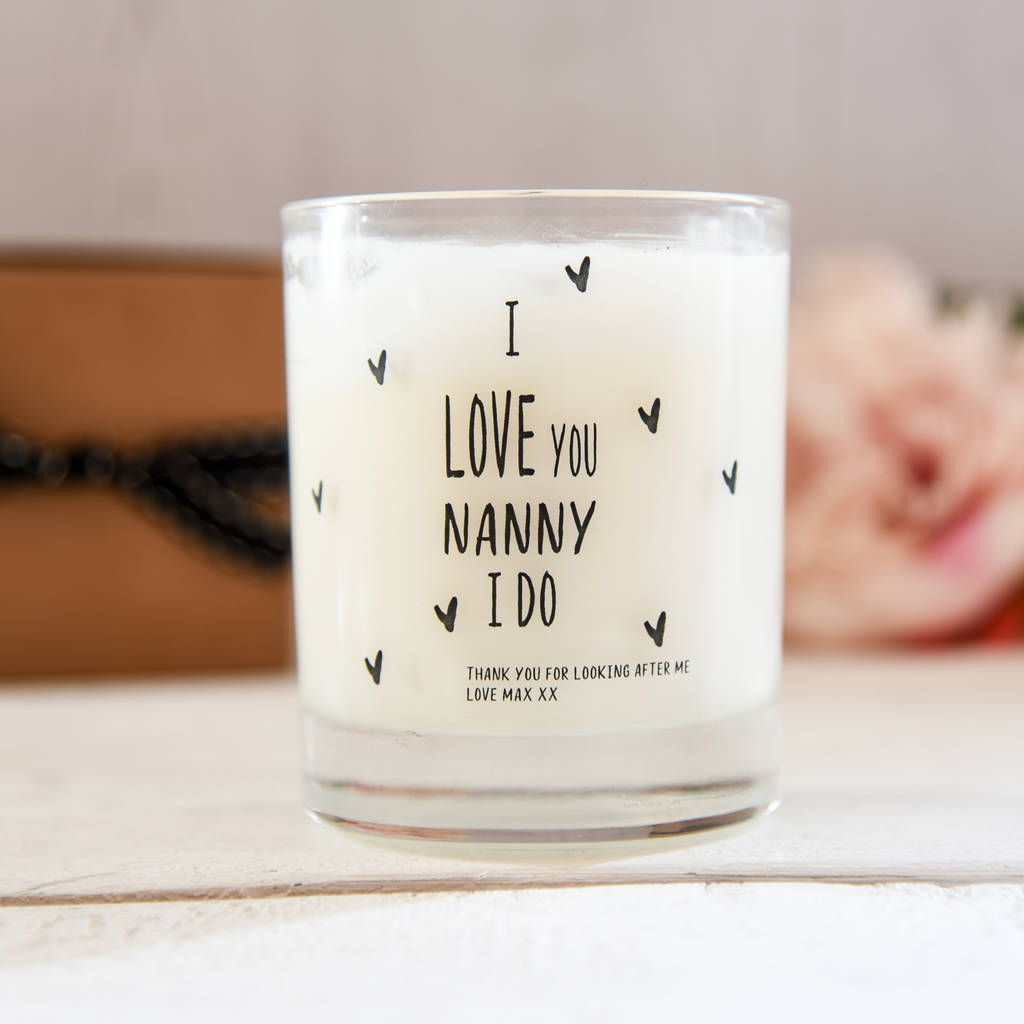 Scented Candle For Grandmother/Nanny
