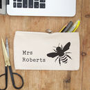 Bumble Bee Personalised Pencil Case