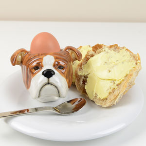 British Bulldog Egg Cup - egg cups & cosies
