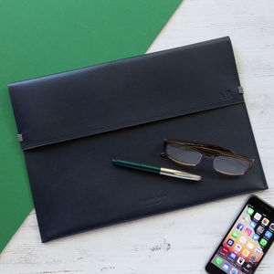 Leather Document Folder - desk accessories