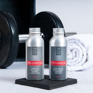 Exercise Oils Before And After Gift Set