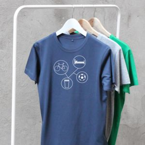 Personalised 'Sports And Hobbies T Shirt' - personalised gifts