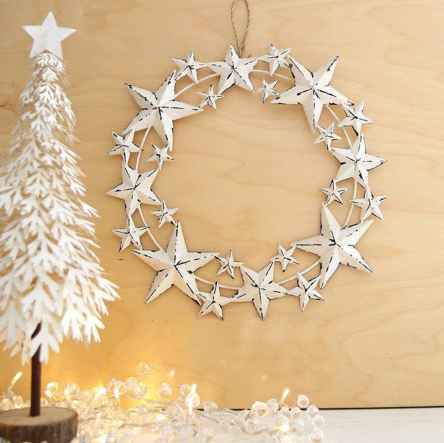 Star Constellation Wreath By Red Lilly