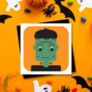 Halloween Invitation Cards With Glow In The Dark Eyes