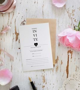 10 Modern Wedding Invites - styling your day sale