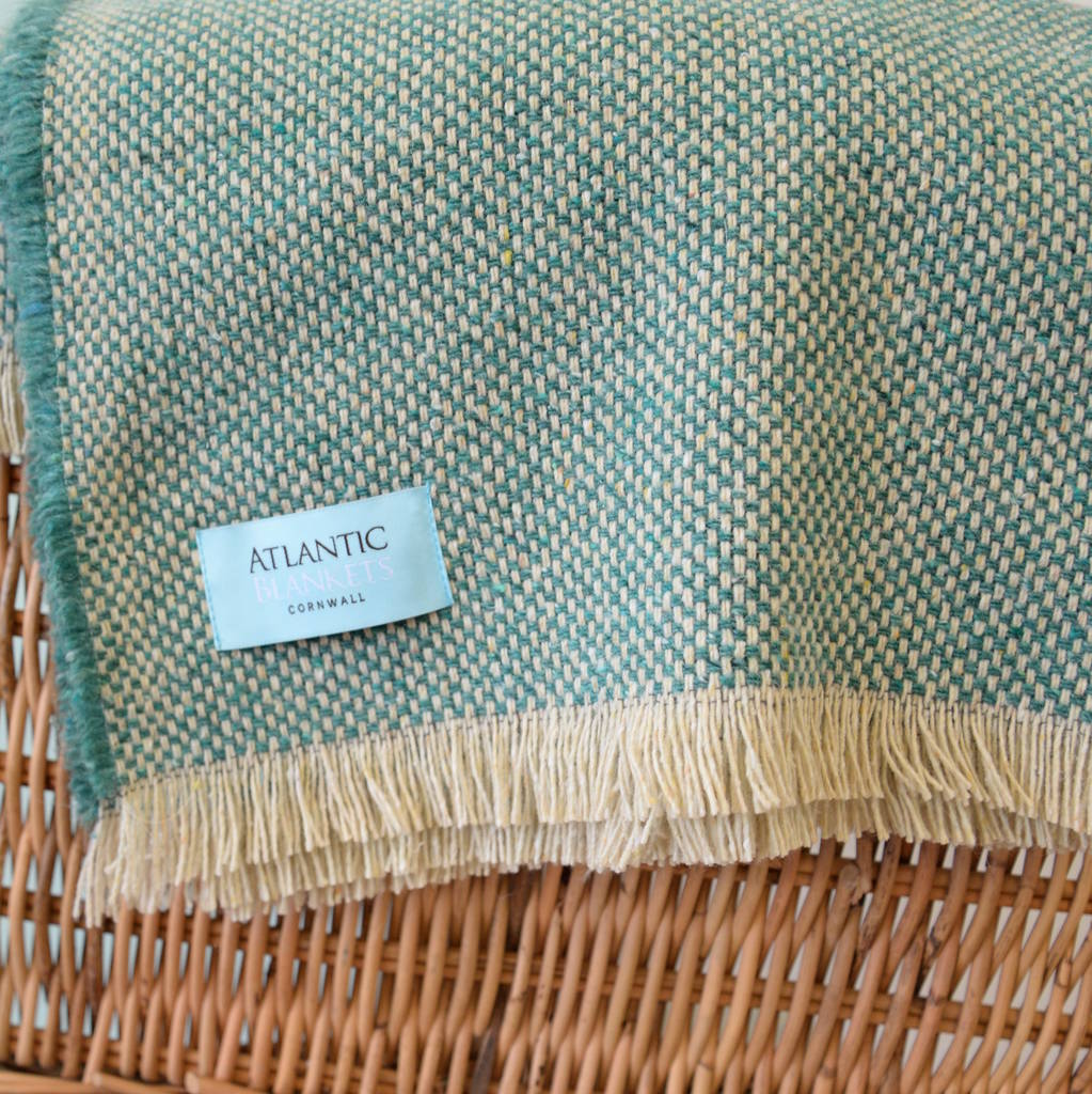 Recycled British Wool Picnic Blanket By Atlantic Blankets