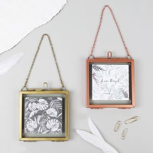 Small Square Hanging Photo Frame - home sale