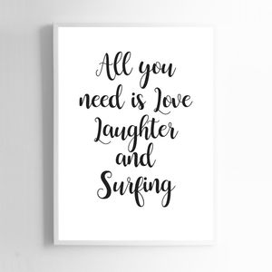 All You Need Is Love, Laughter And Surfing