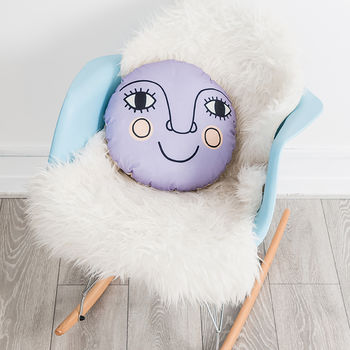 Large Moon Nursery Cushion
