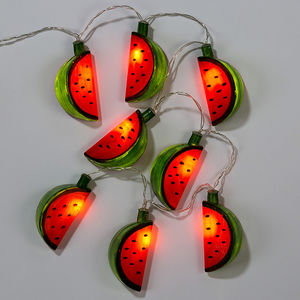 Watermelon String Fairy Lights - baby's room