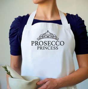 'Prosecco Princess' Apron - baking