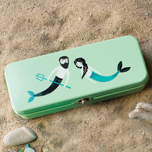 Mermaid Pencil Tin