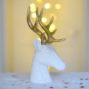 Golden Stag Table Decoration