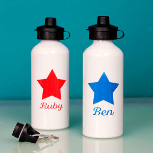 Personalised Bright Star Water Bottle