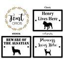 Personalised Dog Sign With Any Breed