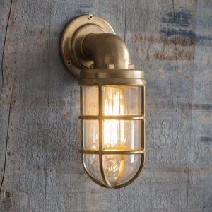 Brass Outdoor Down Light