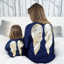 Angel Wing Christmas Jumper Set
