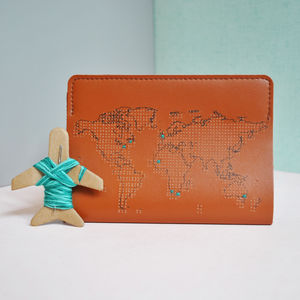 Stitch Your Own Passport Cover - wallets & money clips