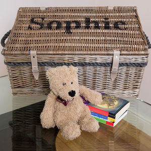 Personalised Toy Box - toy boxes & chests