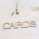 Wooden Cards Signs For Weddings