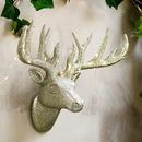 All Glittered Out Deer Head