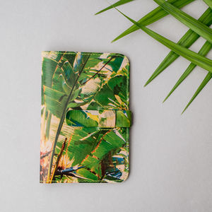 Palms Leather Passport Case - travel & luggage