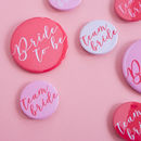 Bride To Be Hen Party Badges