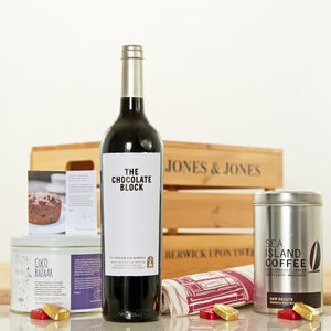Chocolate Block South African Red Wine Crate
