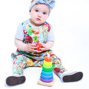 Tutti Frutti Top And Leggings Baby Girl Set