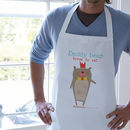 Personalised Bear Family Aprons