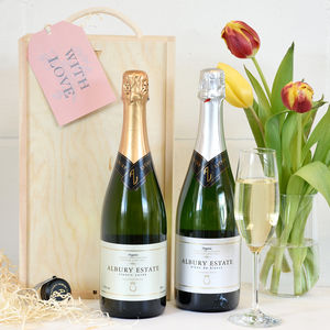English Sparkling Wine Lovers Gift Box
