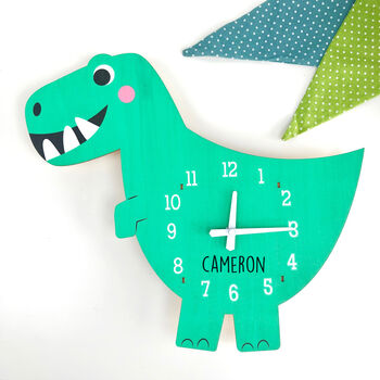 Personalised Children's Wooden Clock