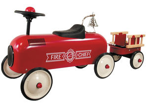 Fire Truck And Trailer Ride On - bikes & ride on toys