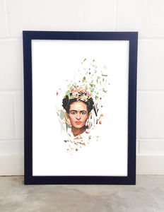 Frida By Tracie Andrews - posters & prints