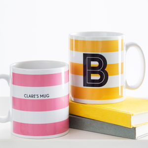 Personalised Office Gift Mugs Set Of Four