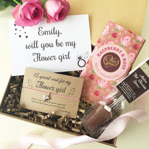 Will You Be My Flower Girl Gift Box